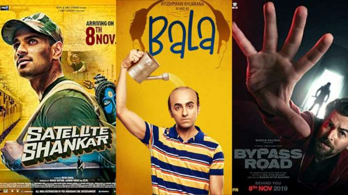 Ayushmann Khurrana's Bala faces clash with Satellite Shankar and Bypass Road