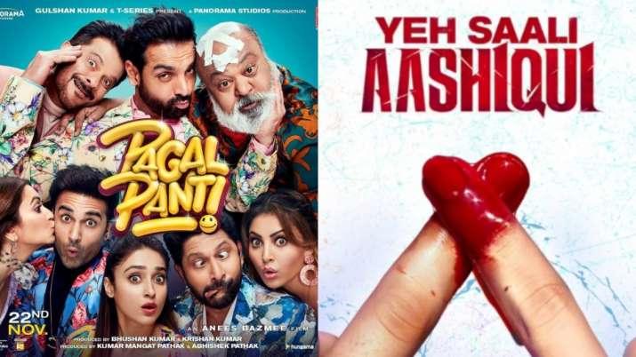 Anil Kapoor's Pagalpanti hits the screens opposite Vardhan Puri's debut film Yeh Saali Aashiqui