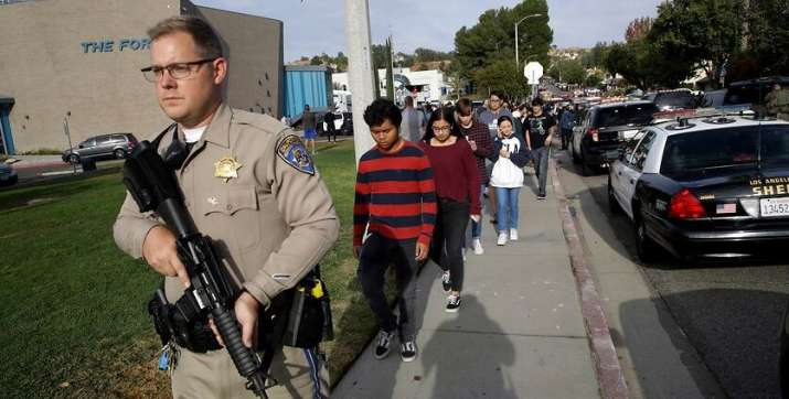 California school shooter dies