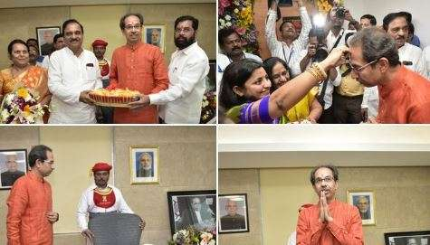 Uddhav Thackeray formally takes charge as Chief Minister of