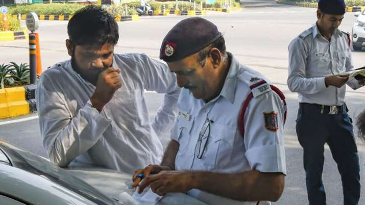 514 challans issued on sixth day of odd-even scheme