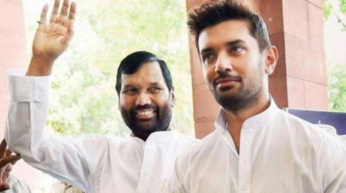 Ramvilas Paswan to announce son Chirag as new LJP chief