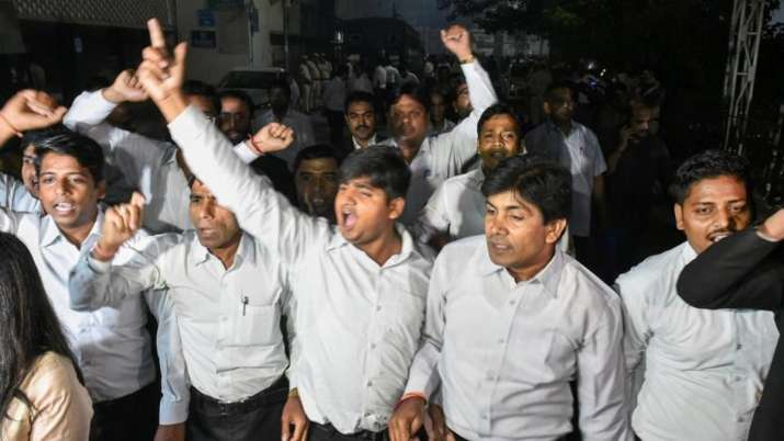 Lawyers strike continues for 3rd day, gates of Patiala, Saket district courts closed to litigants