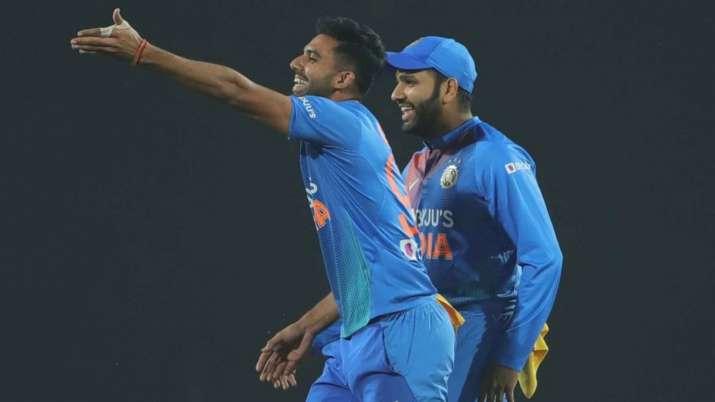 deepak chahar, rohit sharma, rohit sharma captain, deepak chahar rohit sharma, india vs bangladesh,