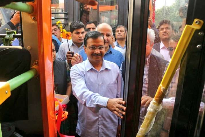 India Tv - Delhi will get 3,000 buses in 6-7 months: Kejriwal