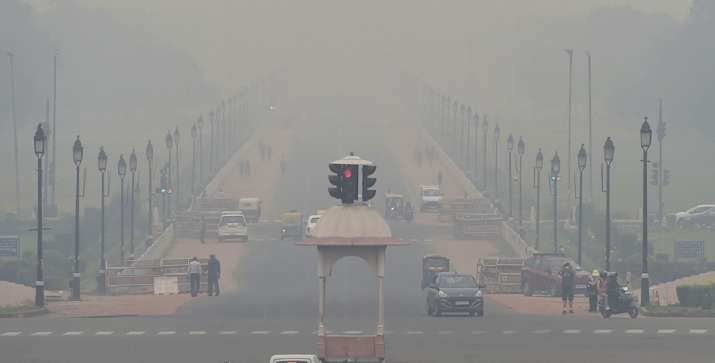 Delhi's air quality 'very poor', but drastic decline unlikely