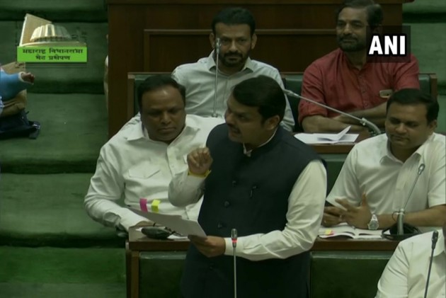 Why did BJP walk out of the Maharashtra Assembly floor test