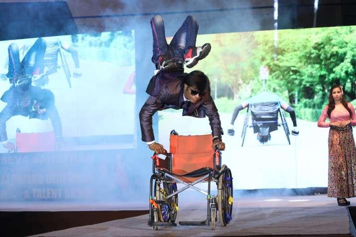India Tv - 40 Divya Heroes showcase awe-inspiring performances at 14th Divyang Talent & Fashion Show