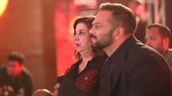 Farah Khan, Rohit Shetty