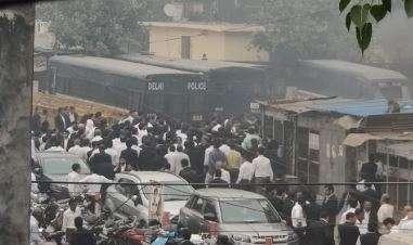 Tis Hazari clash: Police silent as lawyers declare strike