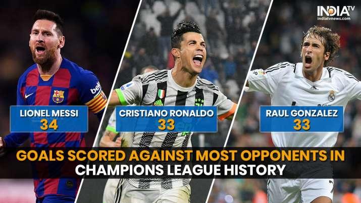 India Tv - Lionel Messi edges past Cristiano Ronaldo in interesting Champions League stat