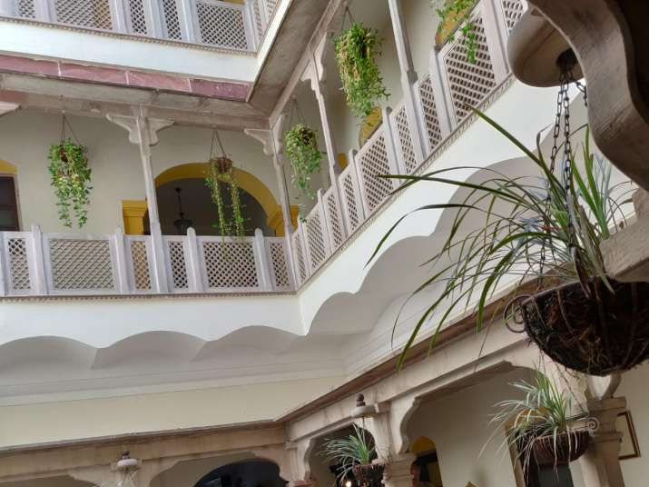India Tv - Haveli Hari Ganga has managed to preserve the rich heritage of the old building.