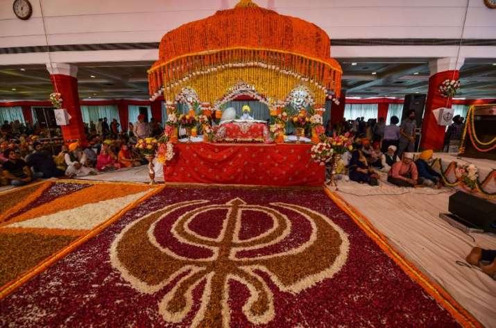 India Tv - New Delhi Gurdwara Rakab Ganj Sahib photos gurupurab