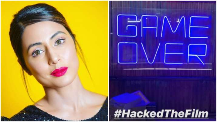 Hina Khan's film with Vikram Bhatt 'Hacked' to release in January 2020