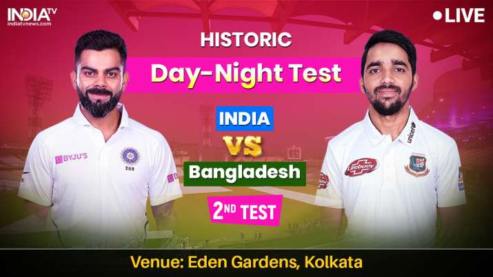 Live Cricket Streaming, India vs Bangladesh, Day Night 2nd Test: Watch IND vs BAN Pink Ball Test onl