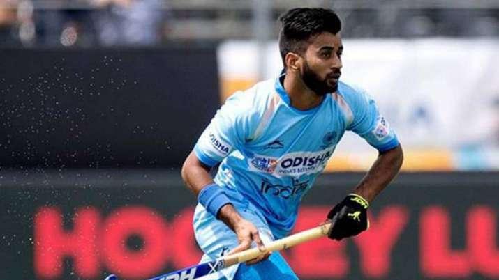 india vs russia, india hockey team, hockey olympic qualifier, manpreet singh