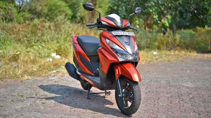 India Tv - Honda Grazia