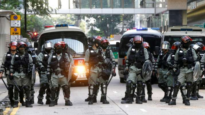 China deploys PLA troops in Hong Kong for 1st time since pro-democracy protests began