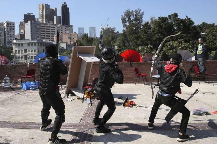 India Tv - Hong Kong protest