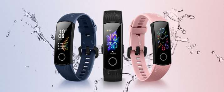 Honor Band 5 offers a coloured AMOLED display.