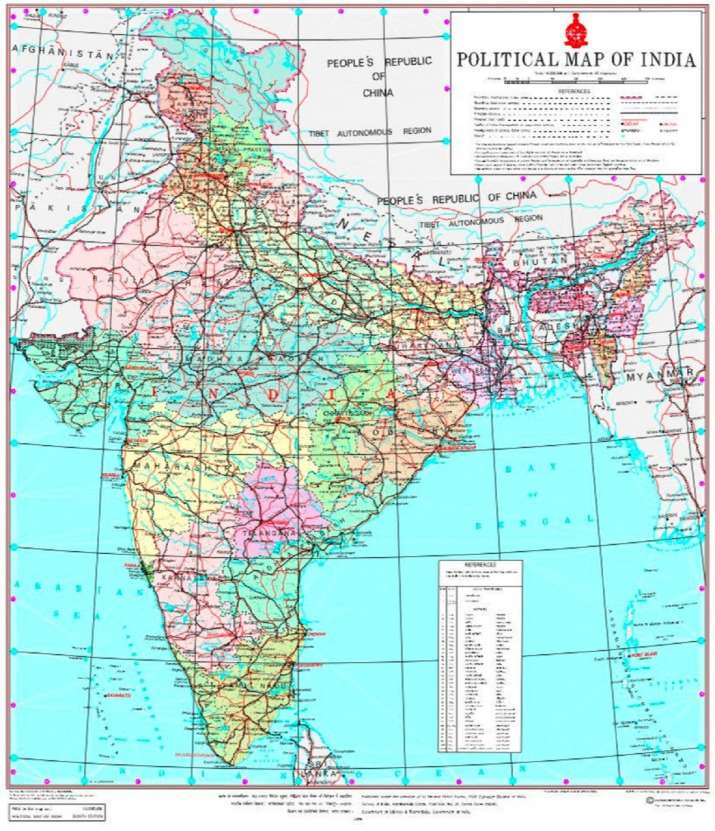 Our map accurately depicts India's sovereign territory: MEA