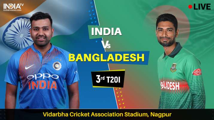 Stream Live Cricket, India vs Bangladesh 3rd T20I: Watch Live IND vs BAN cricket match online on Hot
