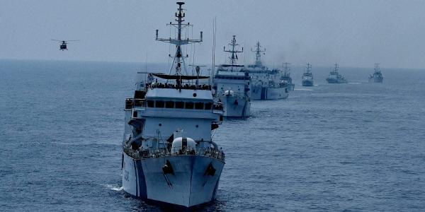 Three Navy ships on standby as Cyclone Bulbul nears coast (Representational image)