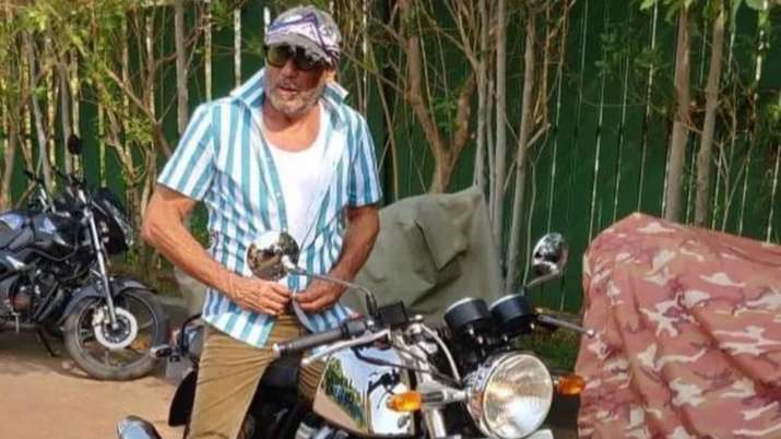 Jackie Shroff buys a Royal Enfield Continental GT 650 bike for Rs 3.5 lakh. Check photos, Bollywood