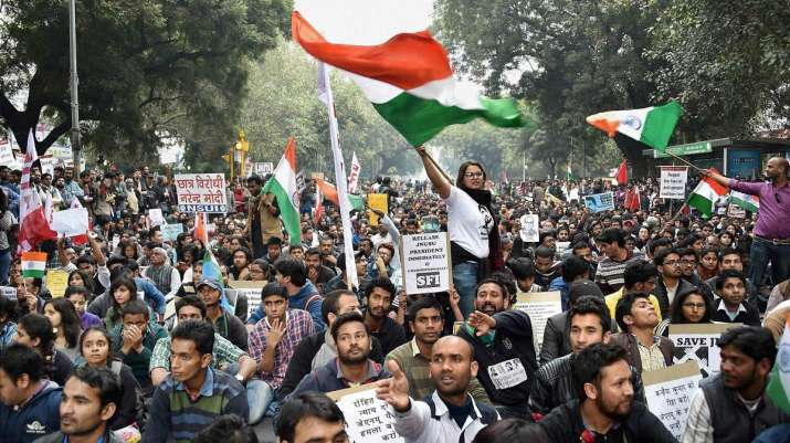 JNU Students' Union to take out protest march to Parliament on Monday