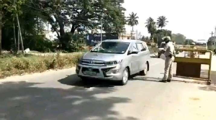 Karnataka violation of model code of conduct