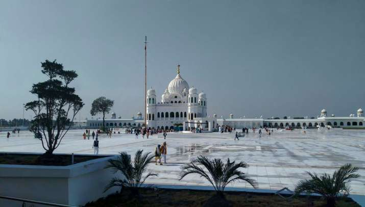 India Tv - Guru Nanak Jayanti 2019: Photos from Sanctum Santorum of Gurdwara Kartarpur Sahib