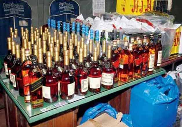 Over 5,000-litre smuggled liquor seized in Greater Noida