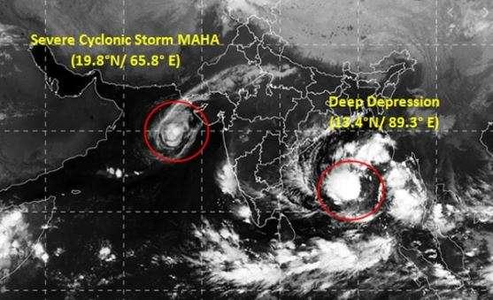 Cyclone Maha: Air pollution may be strengthening cyclones in Arabian Sea, say experts