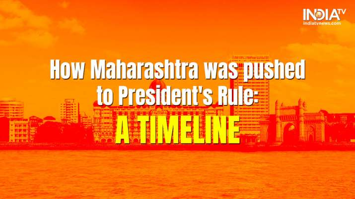How Maharashtra was pushed to President's Rule
