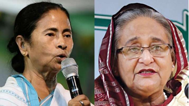 Hasina, Mamata likely to watch historic Day-Night Test together in President's Box
