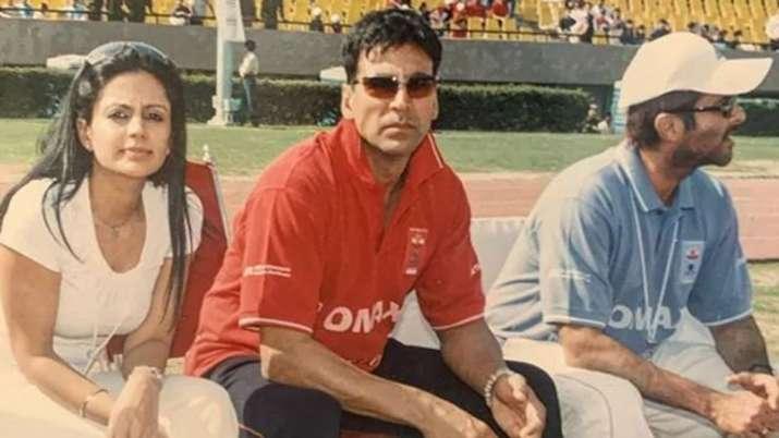 Mandira Bedi, Akshay Kumar, Anil Kapoor