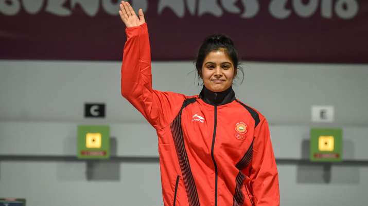 ISSF World Cup Final: India's Manu Bhaker wins gold in women's 10m Air Pistol event