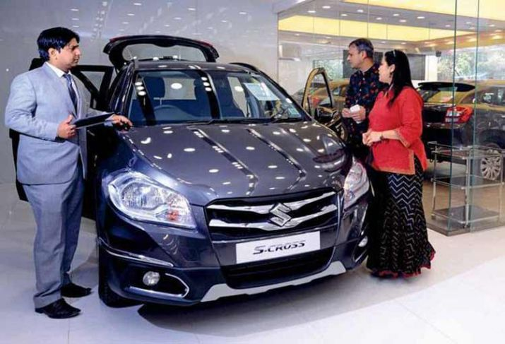 Maruti sees big upward tick in October sales