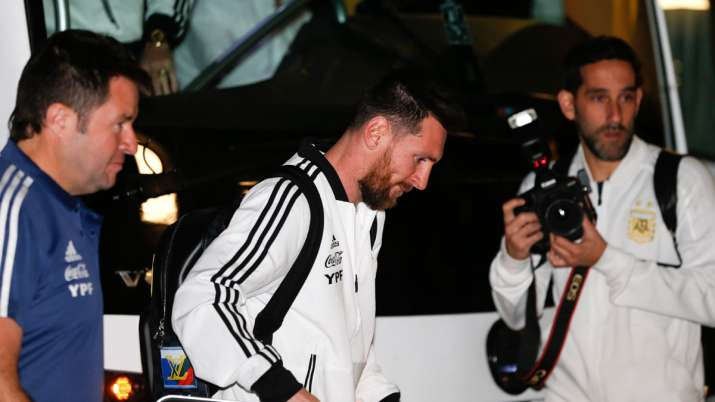 Lionel Messi arrives in Israel despite rockets and boycott threats