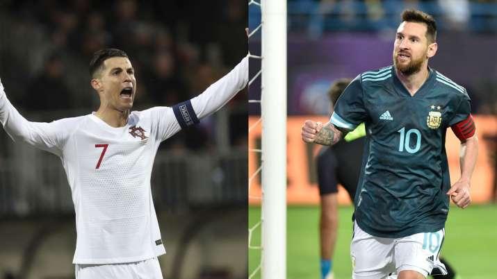 Despite scoring 99 international goals, Cristiano Ronaldo still losing the race to Lionel Messi