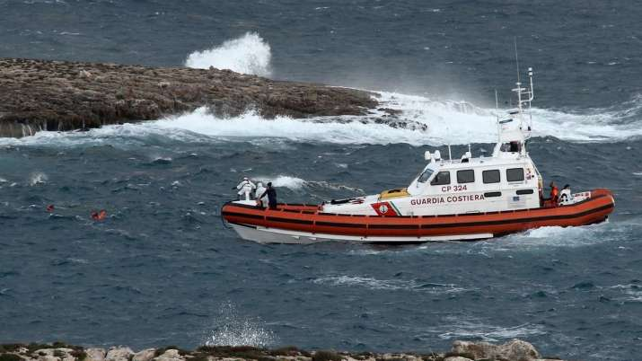 Bodies of five women recovered from capsized boat in Italy