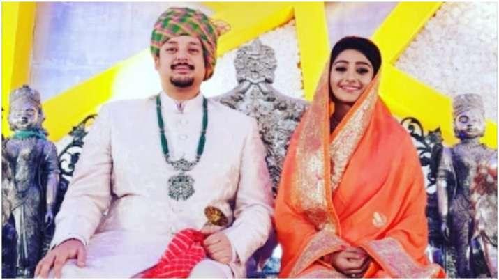 Yeh Rishta Kya Kehlata Hai fame Mohena Kumari Singh witnesses grand, royal reception in Rewa