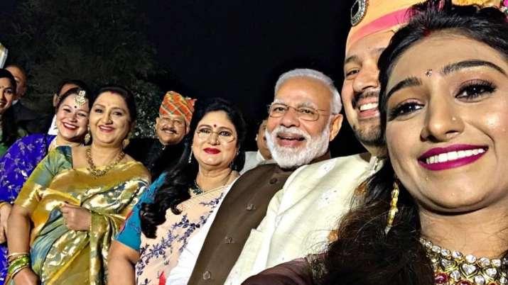 PM Modi attends Yeh Rishta Kya Kehlata Hai star Mohena Kumari Singh's wedding reception in Delhi
