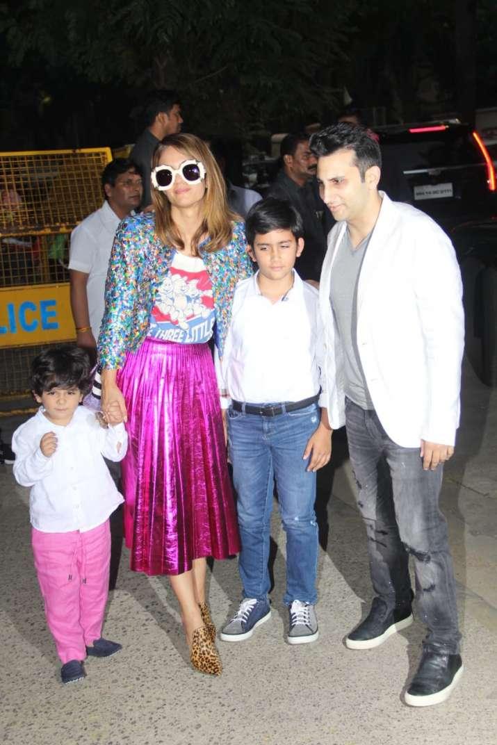 India Tv - natasha poonawala family