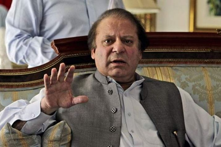 Nawaz Sharif made to turn back from London bridge after