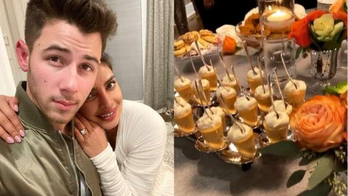 Nick Jonas and Priyanka Chopra's goofy video after Thanksgiving dinner is unmissable
