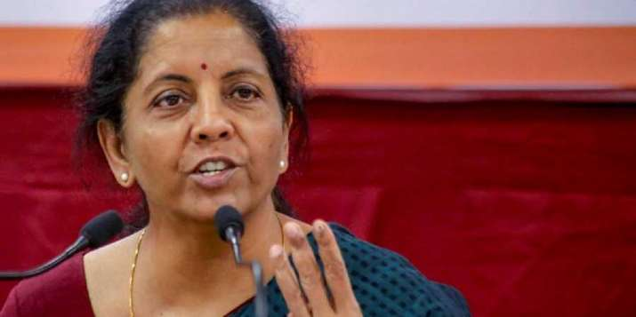 No recession in Indian economy: FM