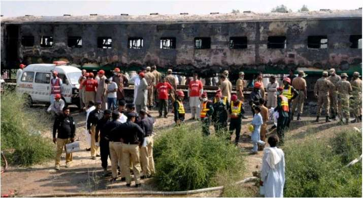 DNA tests planned to identify Pak train fire victims