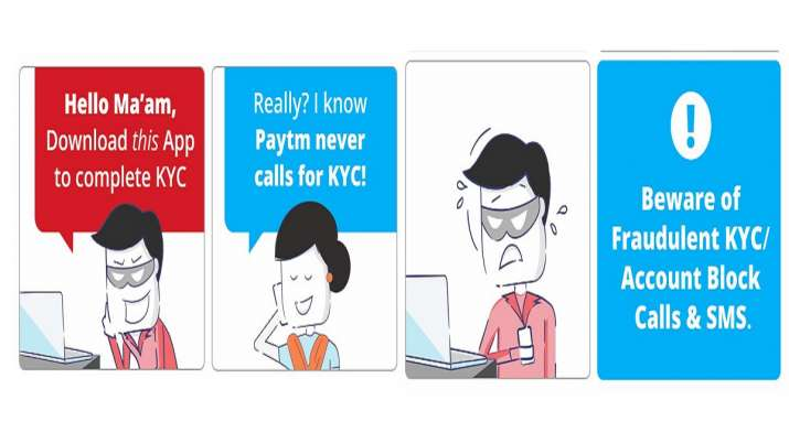 Paytm wallet KYC Fraud: All you need to know: Paytm wallet blocked and KYC verification messages are