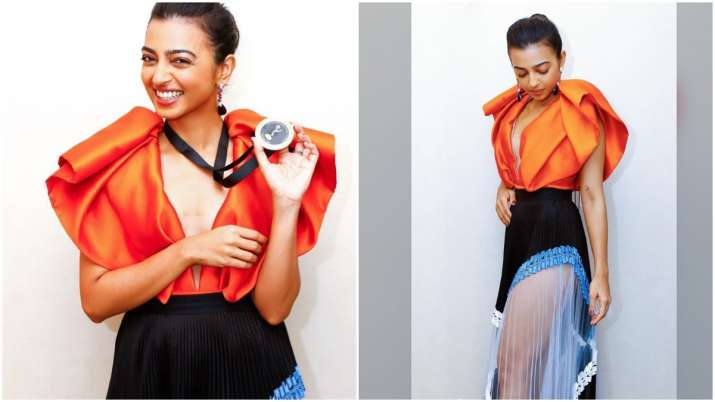 Radhika Apte attends International Emmy Awards in New York, flaunts nomination medal (See Pics)